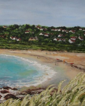 Swanpool Beach by Beryl Jean Worth