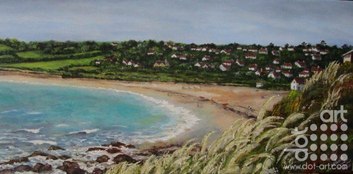 Swanpool Beach by Beryl Jean Worth