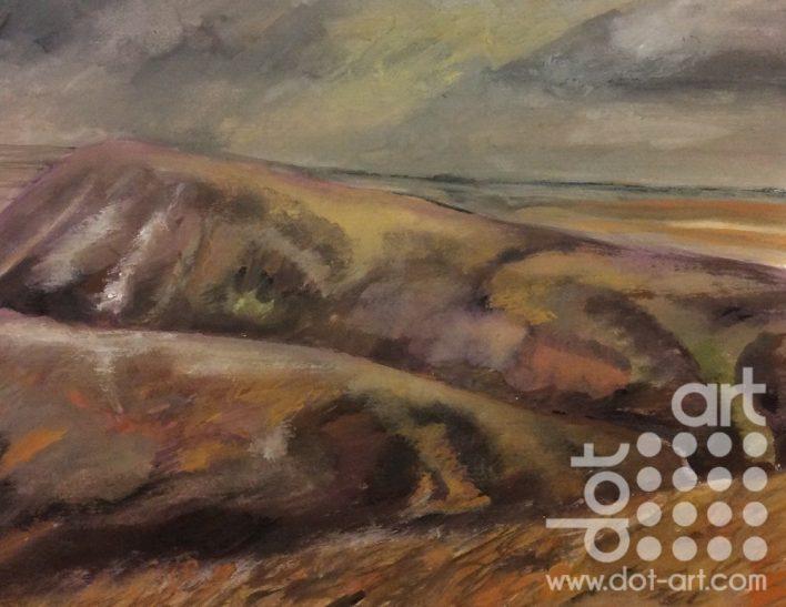 Two Ridges Glenderamackin Valley by Dorothy benjamin