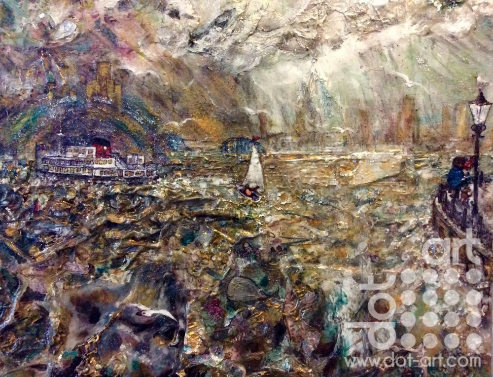 stormy mersey by Susan Finch