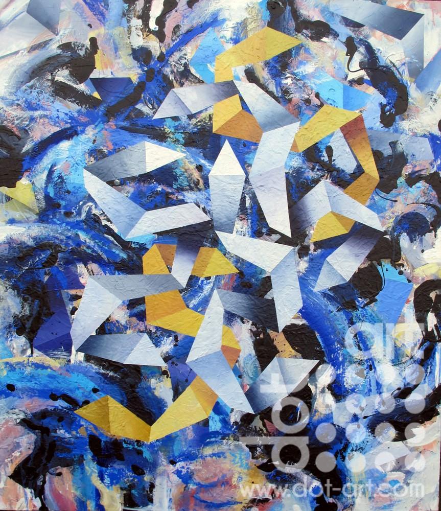 Kites, Blue Fall-john-sharp