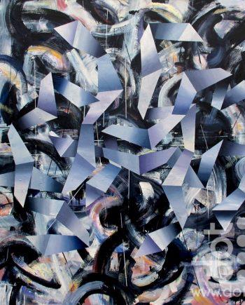 Kites Grid by John Sharp