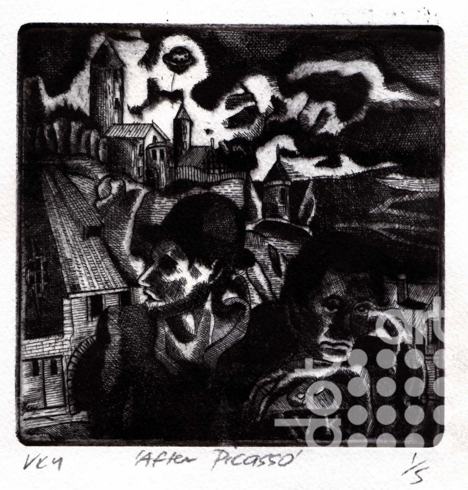 After-Picasso by Vincent Kelly