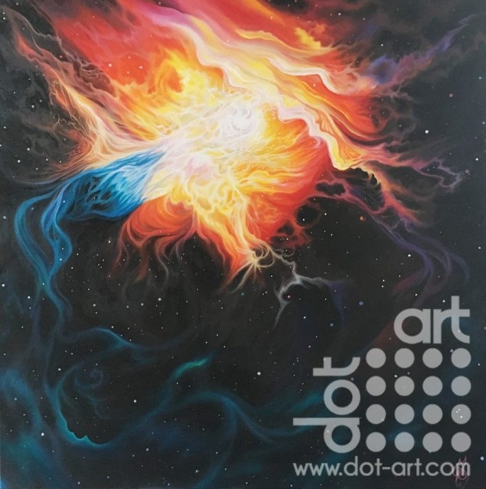 Glory Spill (Eta Carinae) by Madeleine Pires