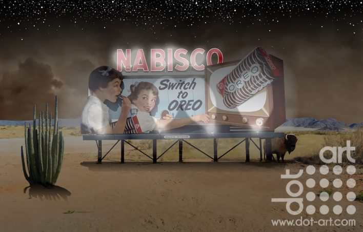 Nabisco Desert by Vincent Kelly