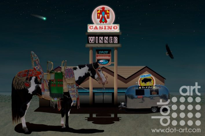 Appaloosa Casino Night by Vincent Kelly