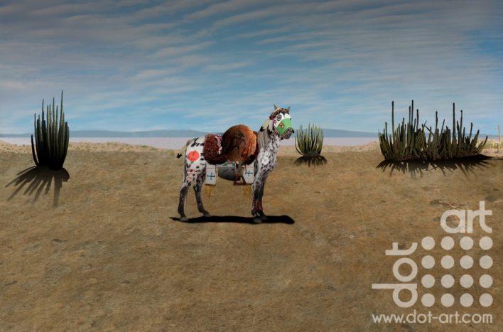Appaloosa War Pony by Vincent Kelly