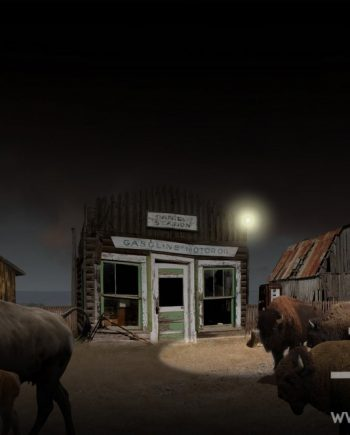 Gasoline Station by Vincent kelly