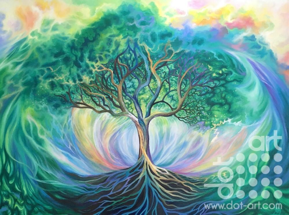 living breathing tree by madeleine pires