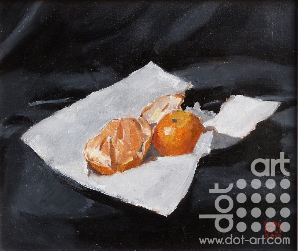 Oranges by Katherine Dereli