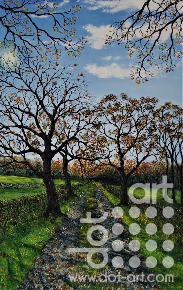 A walk in Autumn by Hazel Thomson