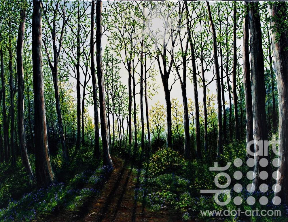 Magical Spring Light by Hazel Thomson