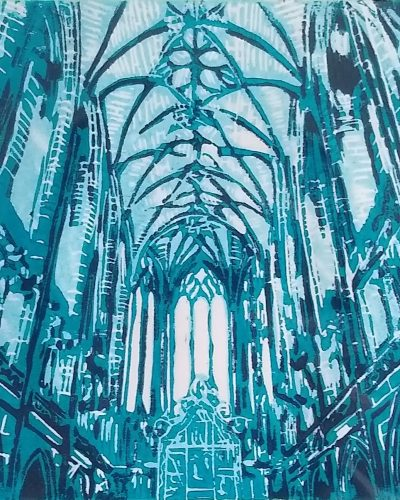 Karen Harkness - Liverpool Cathedral Blue