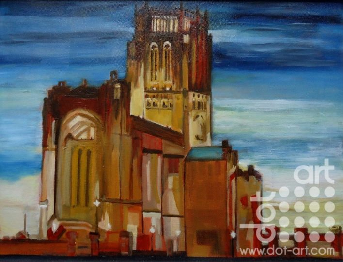 Anglican Cathedral Cathedral by Susan Brown