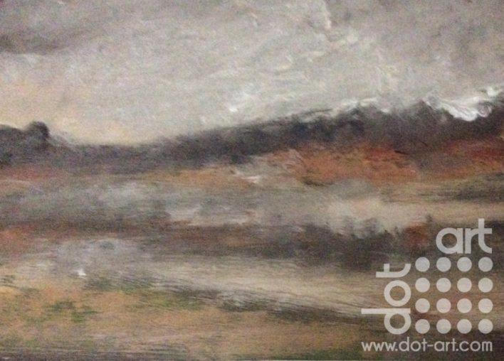 Loch Gavanich 2, Lewis by Dorothy Benjamin