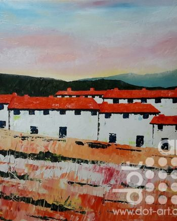 Spanish Cottages by Steve Bayley