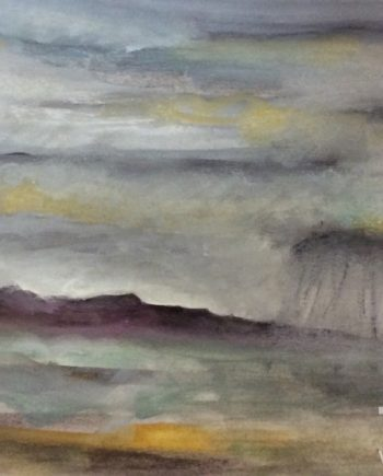 Storm Clouds Anglesey 2 by Dorothy Benjamin