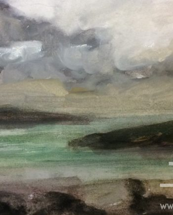 Storm Clouds Anglesey 4 by Dorothy Benjamin
