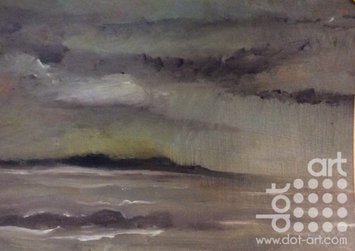 Storm Clouds Anglesey 6 by Dorothy Benjamin