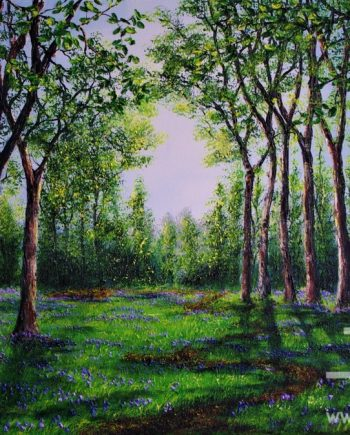Bluebell Walk by Hazel thomson