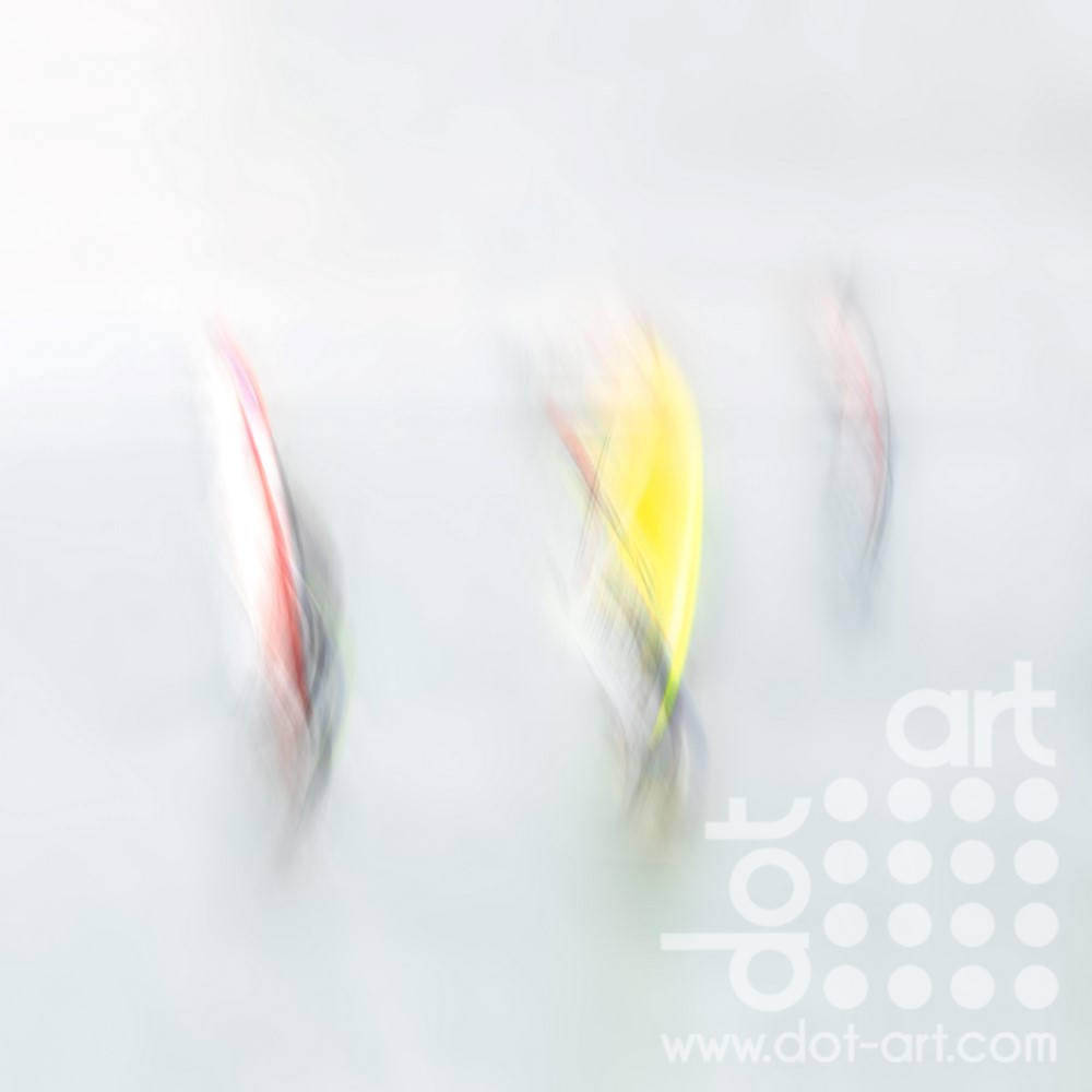 Three Windsurfers by Mark Reeves