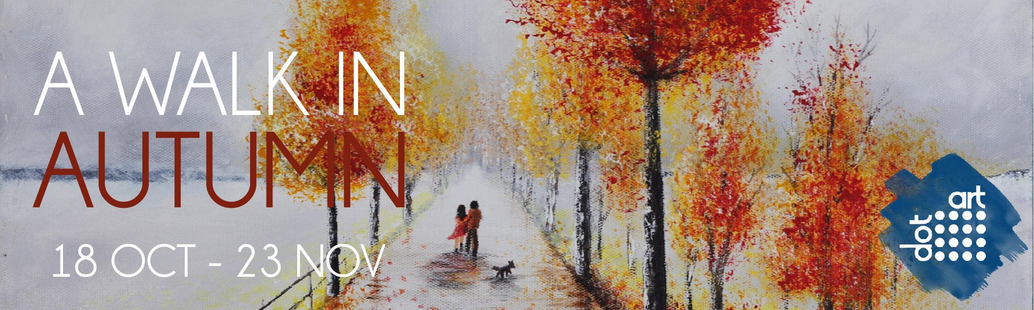 A Walk In Autumn at dot-art