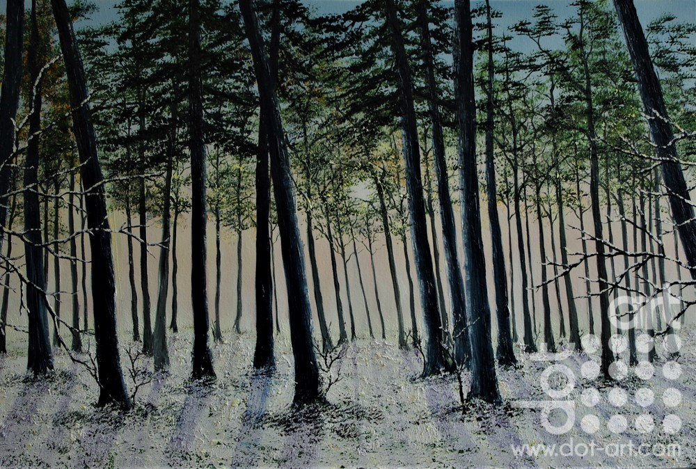 Winter in the Forest by Hazel Thomson