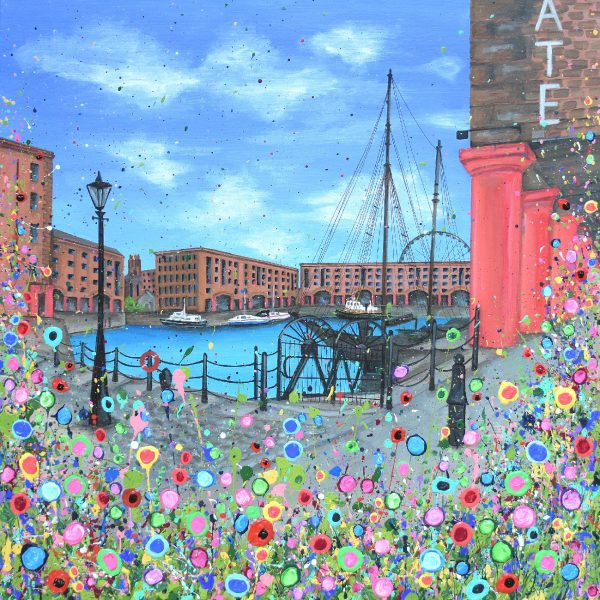 Albert Dock by Jo Gough