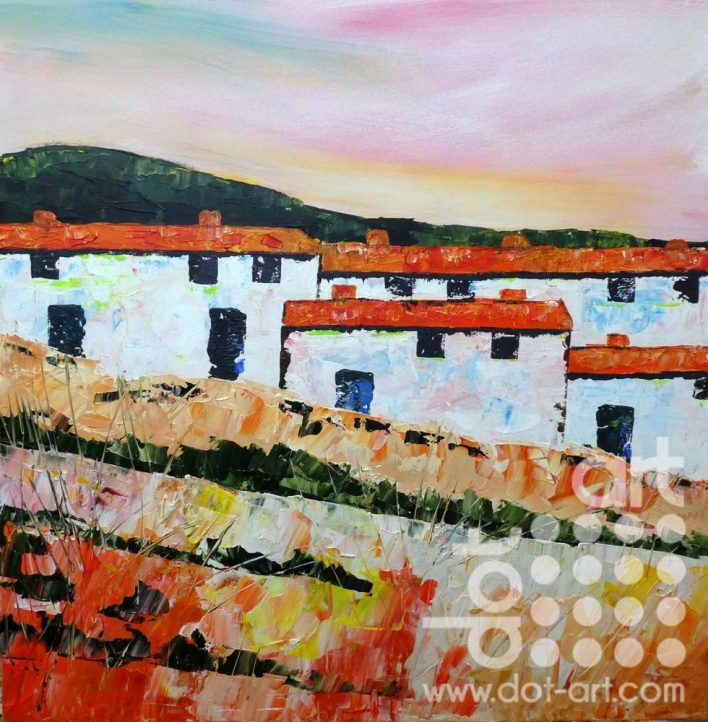 Four Spanish Cottages by Steve Bayley