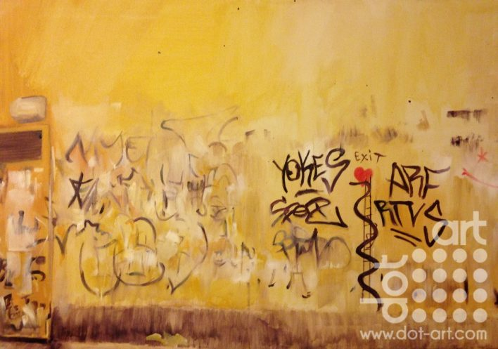 Graffiti in Florence by Tommy Graham