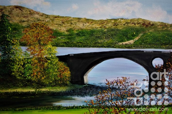Inveraray bridge By Hazel Thomson