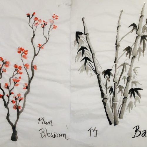 thumbnail_Bamboo and plum blossom