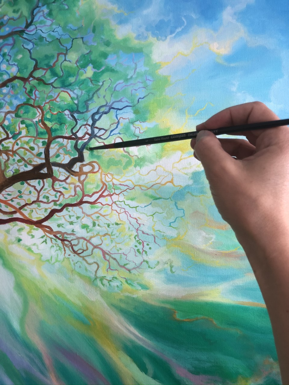 Drawing and Painting Nature: Trees
