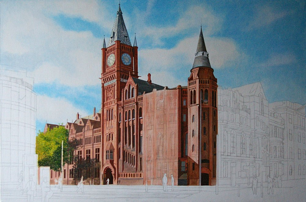Commission work in progress