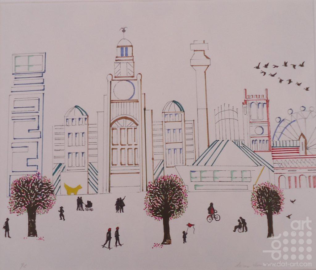 Liverpool in Spring-Susan-Lee-Brown