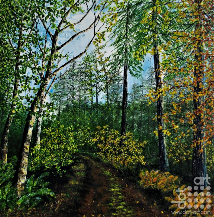 a walk through summer and autumn-hazel-thompson