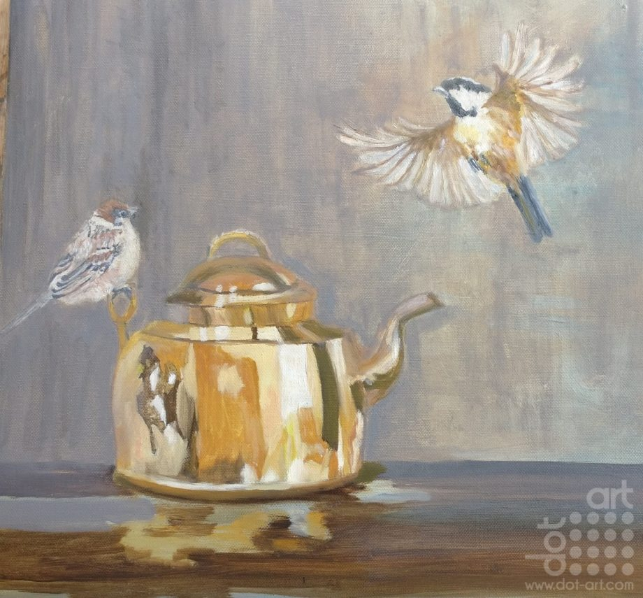 The Old Kettle Outside-Susan-Lee-Brown