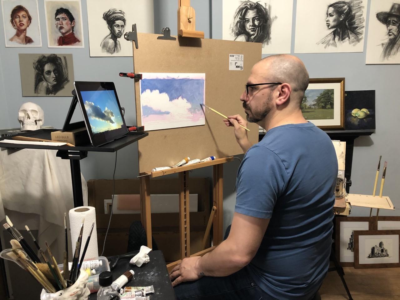 In-the-studio-with-Maurizio-Liberato