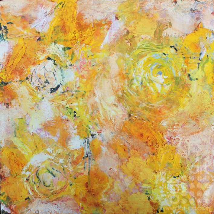 Evening Flowers-Hilary-Dron