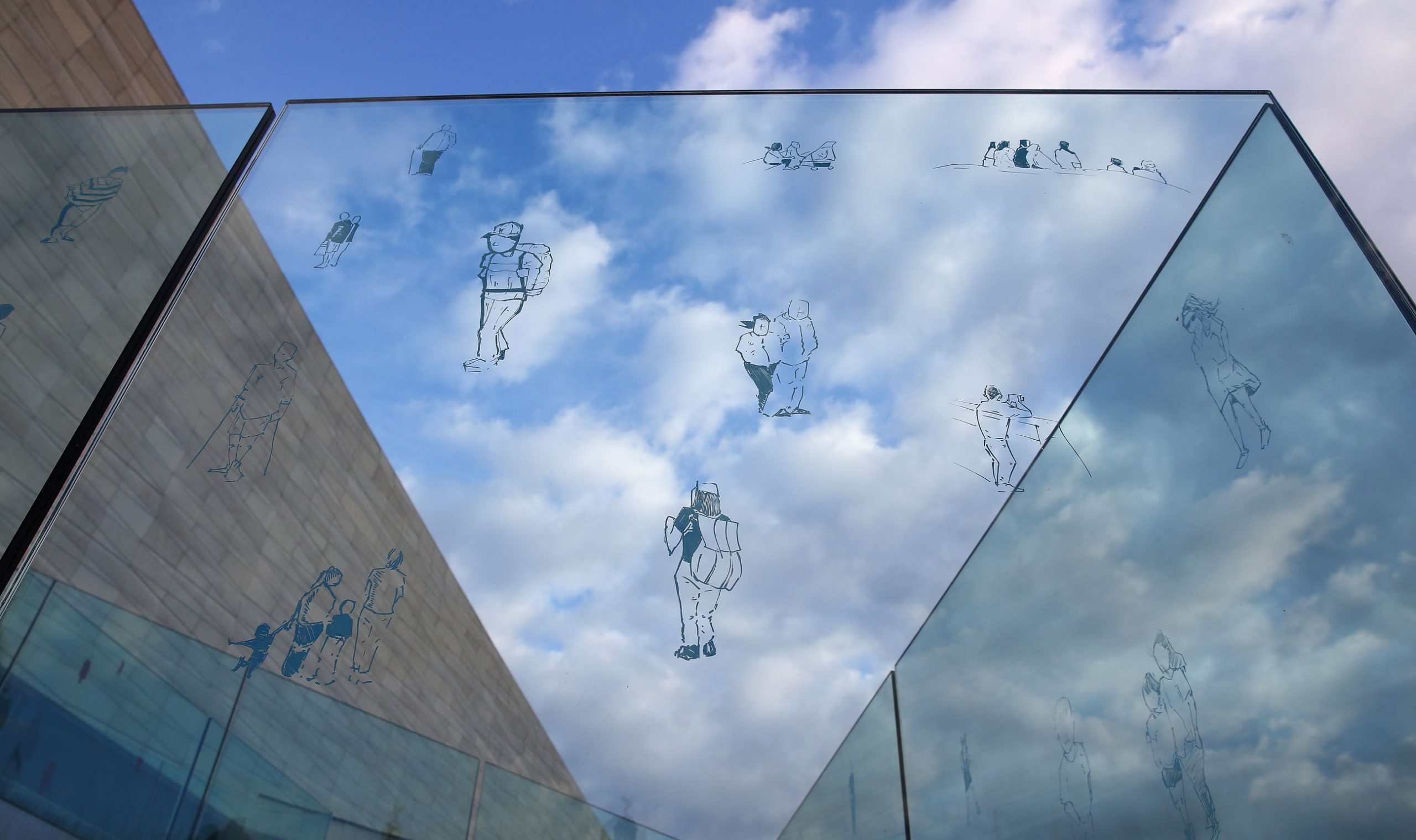 Drawing on the Museum of Liverpool