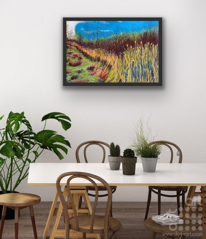 Stadt Moers 3 on wall-Natalie-Gilmore
