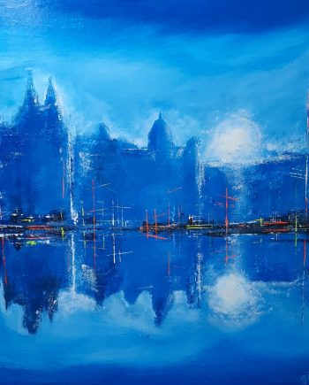 Liverpool in Blue-Steve-bayley