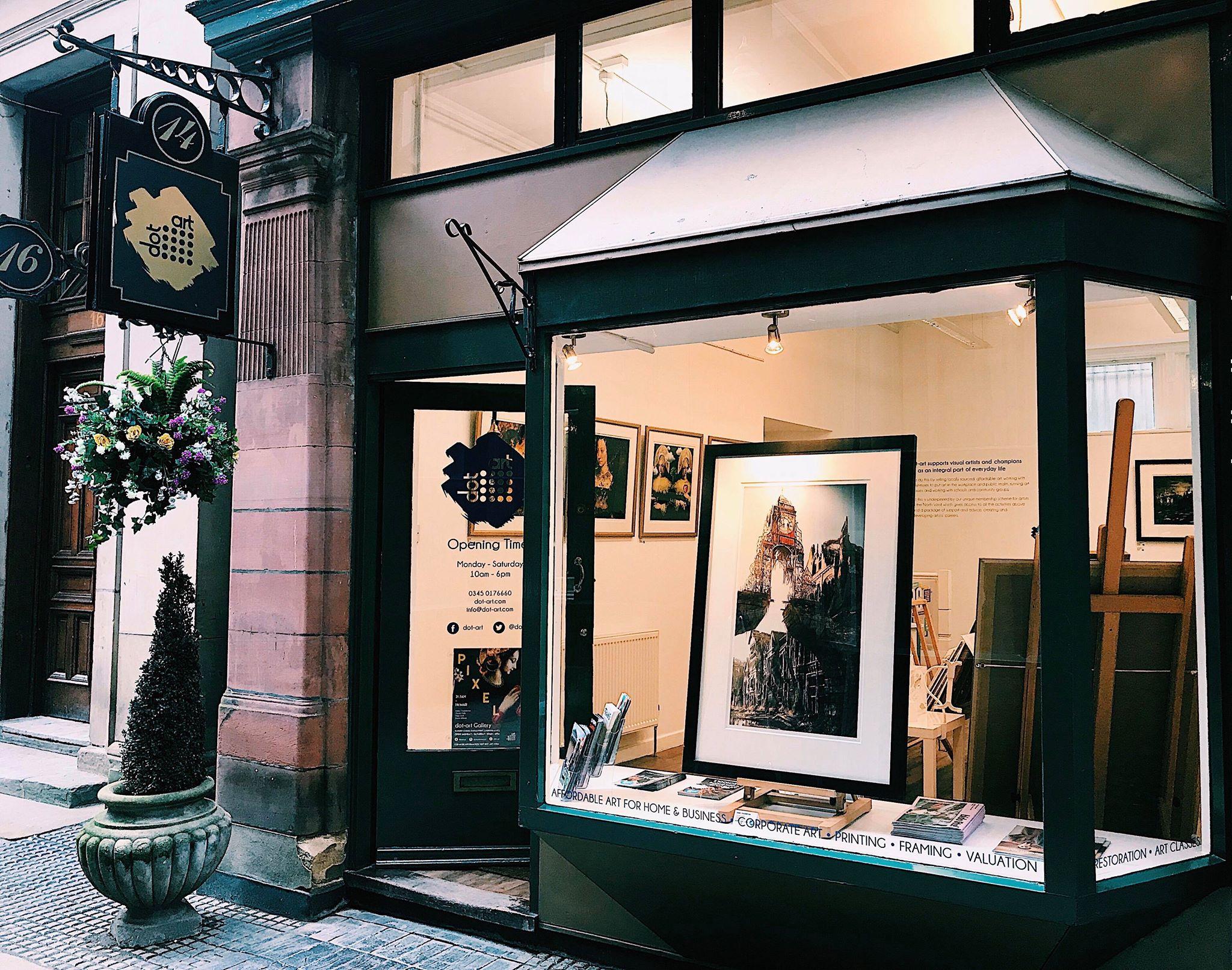 james chadderton at dot-art gallery