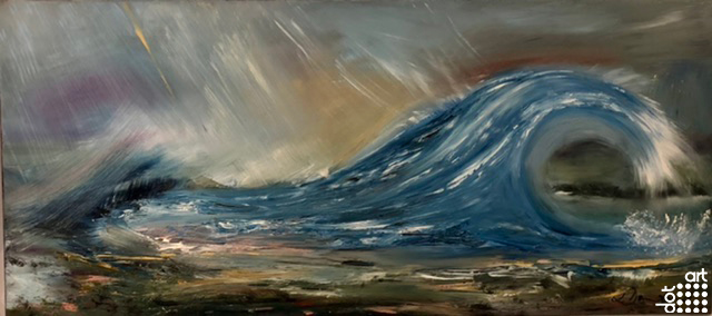 Rock Pools & Tidal waves-Samantha-Danford-Jones