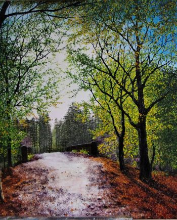 Bridge Through Delamere Forest-Hazel-ThompsonF