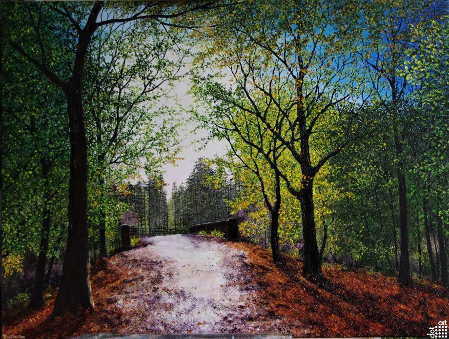 Bridge Through Delamere Forest-Hazel-ThompsonForest copy