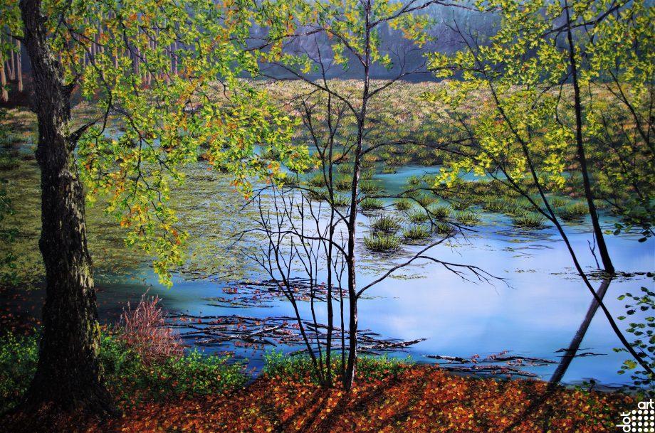 Delamere Moss in Autumn-Hazel-Thompson