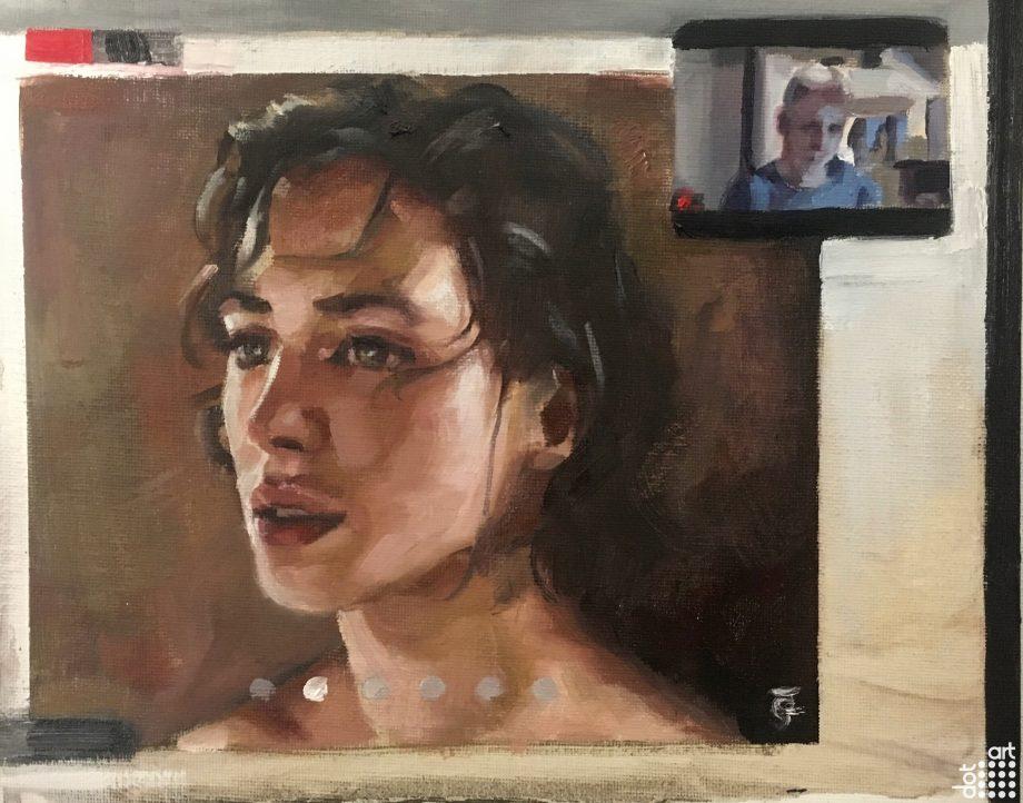 Jessica Brown Findlay- Zoom Portrait-Jacob-Gourley