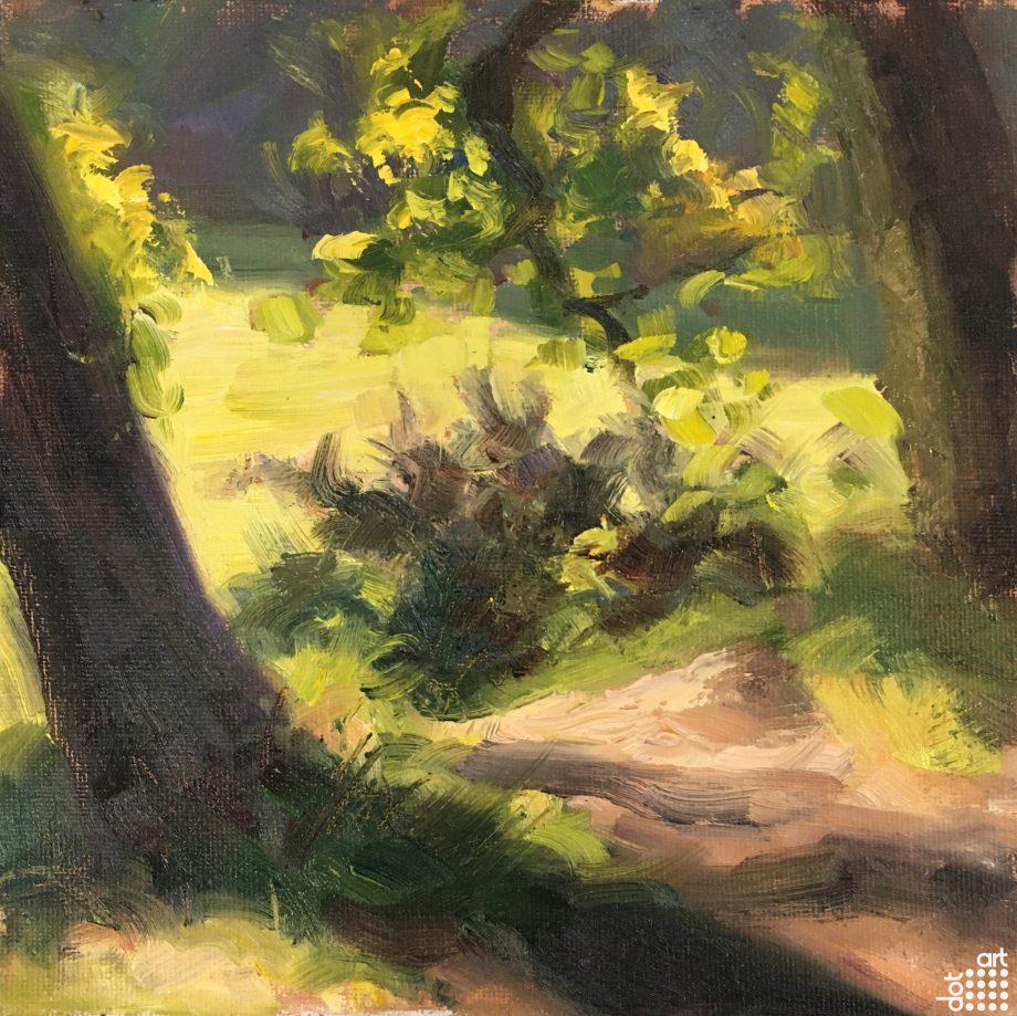 Birkenhead Park (Plein Air) -Jacob-Gourley