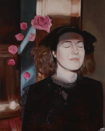 Girl With The Rose Petals-Lorna-Morris